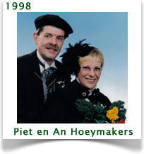 1998 - Piet & An Hoeymakers